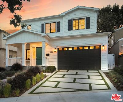 Los Angeles County Single Family Home For Sale: 221 South Bundy Drive