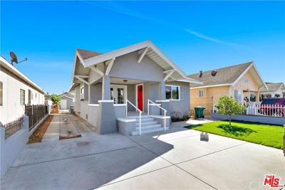 Los Angeles Single Family Home For Sale: 3468 2nd Avenue