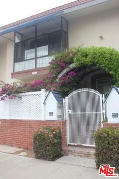 Santa Monica Condo/Townhouse For Sale: 703 Bay Street