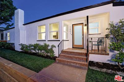 Santa Monica Single Family Home For Sale: 1602 Bryn Mawr Avenue