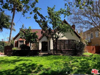 Los Angeles County Single Family Home For Sale: 908 South Ridgeley Drive