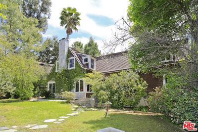 Topanga Single Family Home For Sale: 20563 Cheney Drive