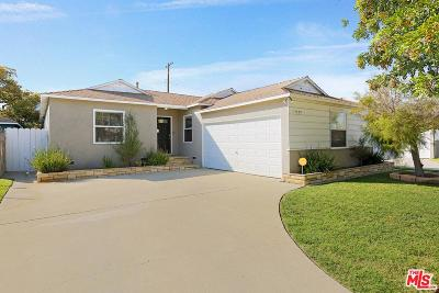 Culver City Single Family Home For Sale: 11449 Segrell Way