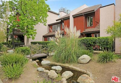 Culver City Condo/Townhouse For Sale: 5020 Maytime Lane
