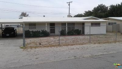 Desert Hot Springs Single Family Home For Sale: 67641 Club House Drive