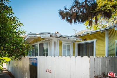 Venice Single Family Home For Sale: 2512 Ocean Avenue