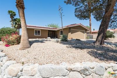 Desert Hot Springs Single Family Home For Sale: 9881 Oakmount