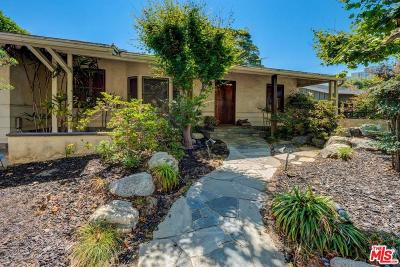 Santa Monica Single Family Home For Sale: 312 East Rustic Road