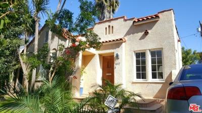 West Hollywood Single Family Home For Sale: 8917 Rosewood Avenue