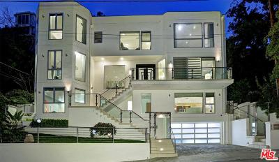 Sunset Strip - Hollywood Hills West (C03) Single Family Home For Sale: 1663 North Crescent Heights Boulevard