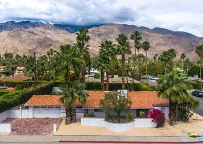 Palm Springs Single Family Home For Sale: 1679 East San Lorenzo Road