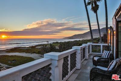 Malibu Single Family Home For Sale: 30826 Broad Beach Road