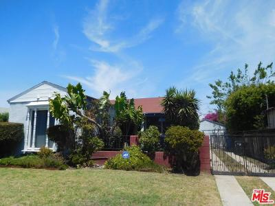 Los Angeles Single Family Home For Sale: 707 West 113th Street