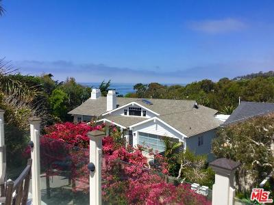 Los Angeles County Single Family Home For Sale: 31834 Broad Beach Road