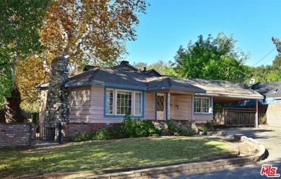 Arcadia Single Family Home For Sale: 1827 Oak View Lane