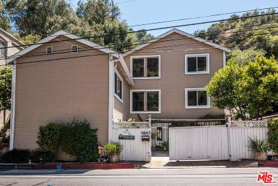 Single Family Home For Sale: 1647 North Beverly Glen