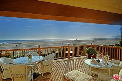 Los Angeles County Rental For Rent: 707 Palisades Beach Road