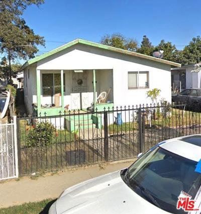 Los Angeles Single Family Home For Sale: East 113th Street