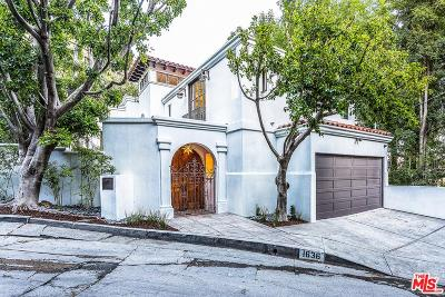 Sunset Strip - Hollywood Hills West (C03) Single Family Home For Sale: 1636 Queens Road