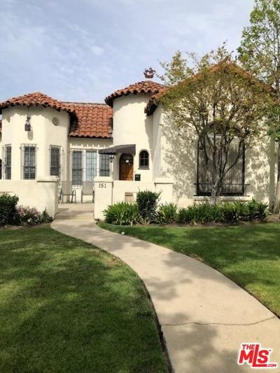 Los Angeles County Single Family Home For Sale: 151 South Poinsettia Place