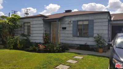 Los Angeles Single Family Home For Sale: 1284 East 127th Street