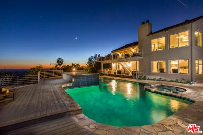 Malibu Single Family Home For Sale: 32700 Vista De Los Ondas Street