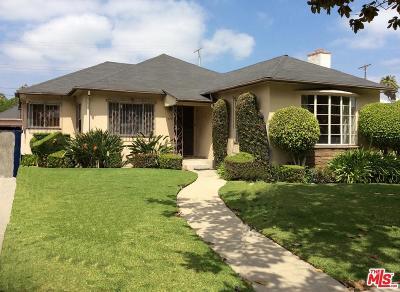 Single Family Home For Sale: 4001 Hubert Avenue