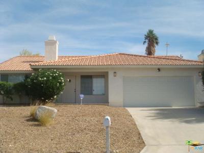 Desert Hot Springs Single Family Home For Sale: 66412 San Juan Road
