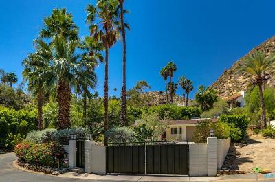 Palm Springs Single Family Home For Sale: 2165 South Camino Barranca
