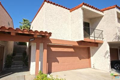 Palm Springs Condo/Townhouse For Sale: 646 South Calle Petunia