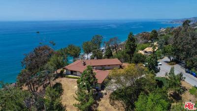 Malibu Single Family Home For Sale: 20616 Seaboard Road