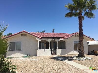 Desert Hot Springs Single Family Home For Sale: 9270 West Drive