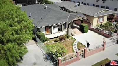 Los Angeles CA Single Family Home For Sale: $1,100,000
