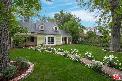 Studio City Single Family Home For Sale: 4221 Agnes Avenue