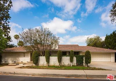 Encino Single Family Home For Sale: 17419 Sumiya Drive