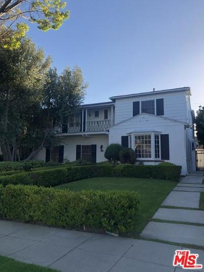 Beverly Hills Rental For Rent: 223 South Roxbury Drive