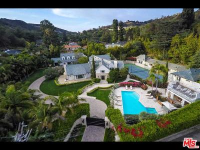 Beverly Hills Single Family Home For Sale: 9555 Heather Road