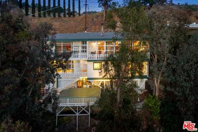 Los Angeles County Single Family Home For Sale: 7900 Willow Glen Road