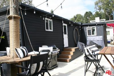 Los Angeles County Mobile Home For Sale: 63 Paradise Cove Road