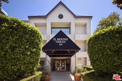 Pasadena Condo/Townhouse For Sale: 300 North El Molino Avenue #202