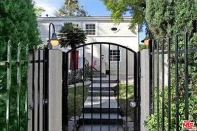 West Hollywood Single Family Home For Sale: 1225 North Olive Drive