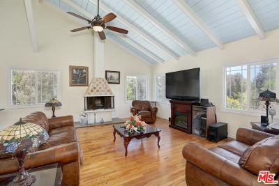 Pacific Palisades Single Family Home For Sale: 16723 West Sunset