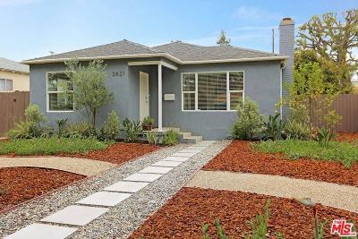 Santa Monica Single Family Home For Sale: 2821 Delaware Avenue