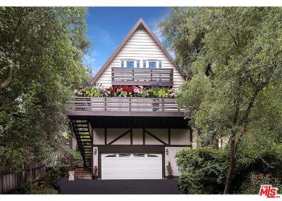 Topanga Single Family Home For Sale: 3415 Old Topanga Canyon Road