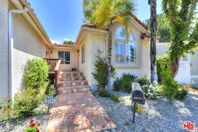 Topanga Single Family Home For Sale: 1196 Aztec