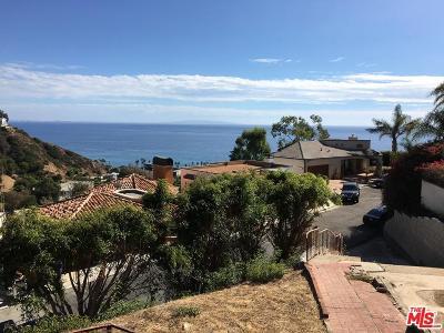Malibu Residential Lots & Land For Sale: 3851 Rambla Orienta