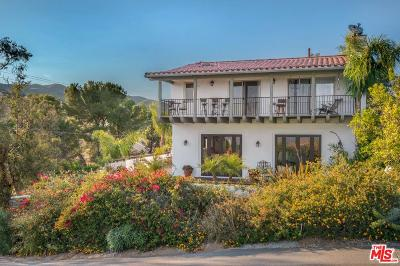 Los Angeles County Single Family Home For Sale: 1912 Lookout Road