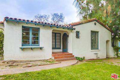 Glendale Single Family Home For Sale: 1610 Cleveland Road