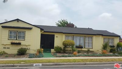 Los Angeles CA Single Family Home For Sale: $975,000