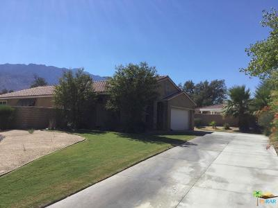 Palm Springs Single Family Home For Sale: 3651 Western Sky Way